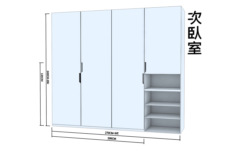 02_臥室3D設計圖